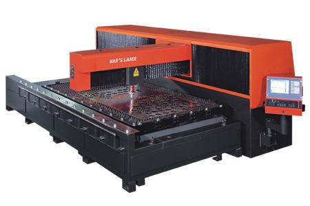 """Установка высокомощной лазерной резки B3015 компании  """"Han's Laser """", использует лазер высокой мощности..."""